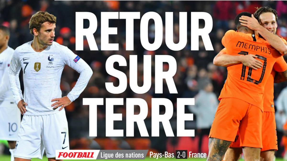 Oranje brengt wereldkampioen Frankrijk 'terug op aarde'