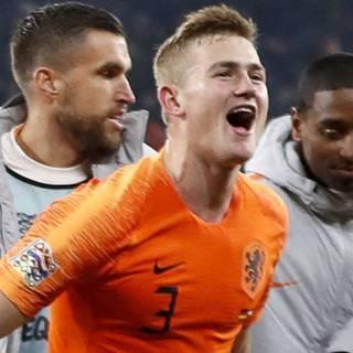 De Ligt: 'We proberen weer een Oranje-machine te worden'