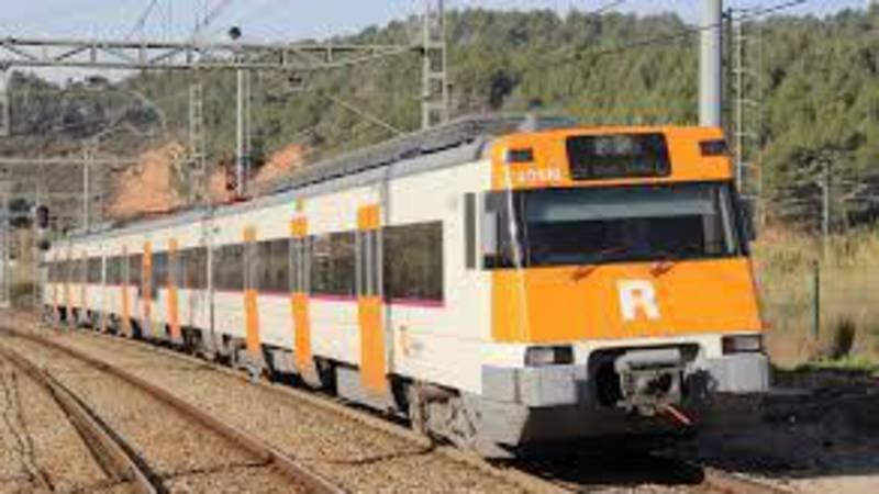 Frontale treinbotsing bij Barcelona, 1 dode.