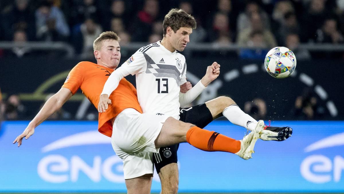Treft Nederland Duitsland opnieuw in EK-kwalificatie?