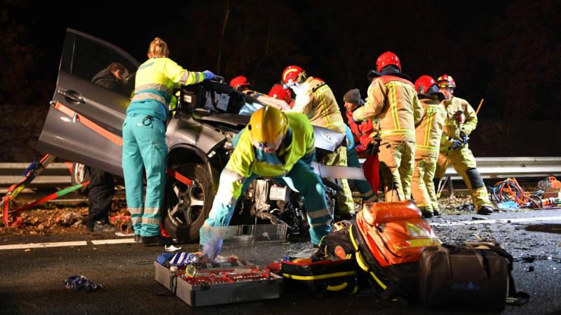 Spookrijder veroorzaakt dodelijk ongeval op A2 bij Maarheeze.