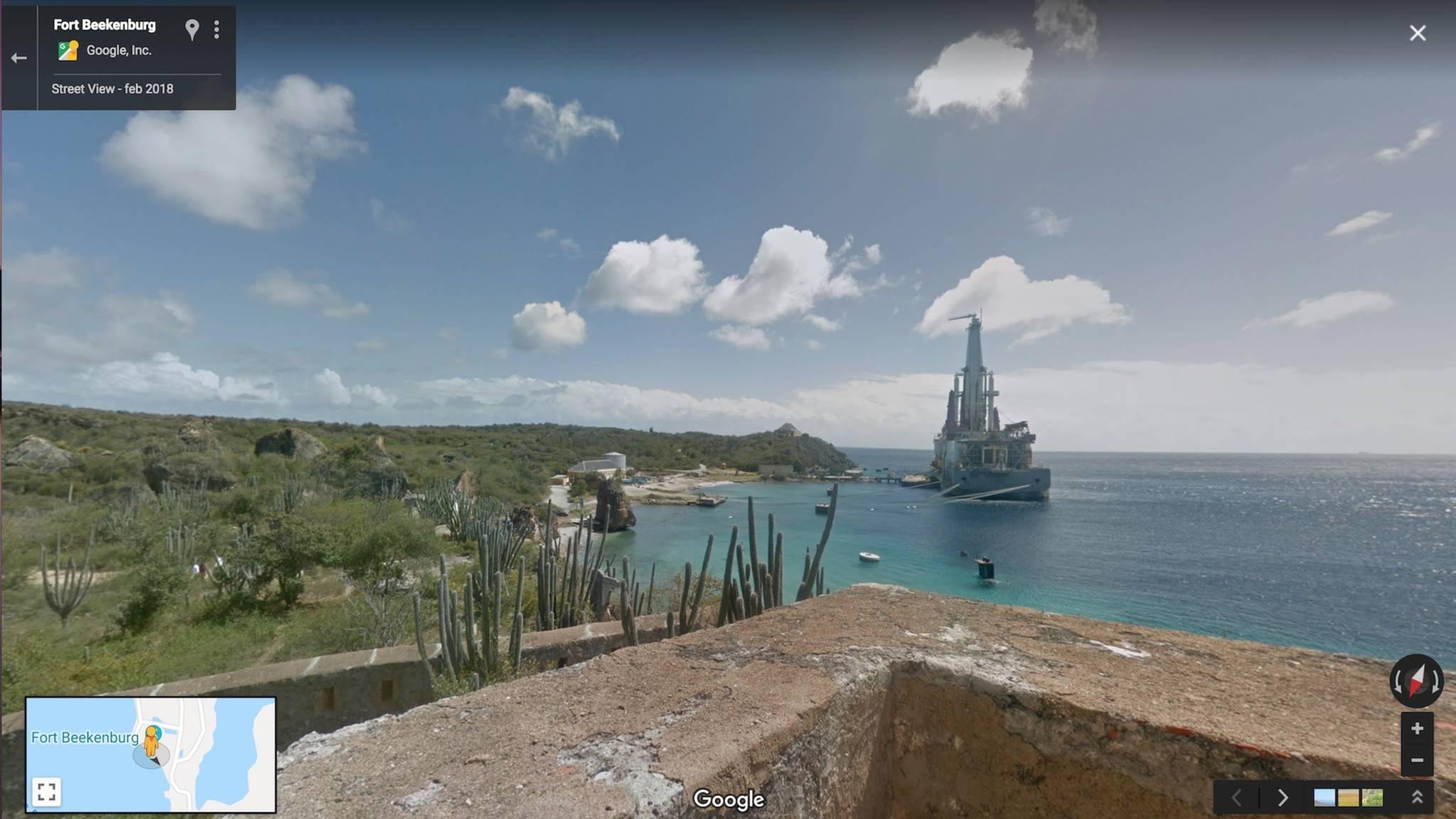 Curaçao nu ook te zien op Google Street View | NOS