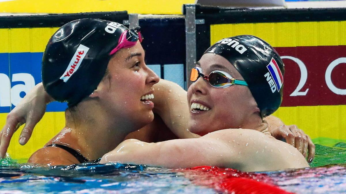 Kromowidjojo en Heemskerk slaan slag bij WK: goud en zilver op 100 vrij