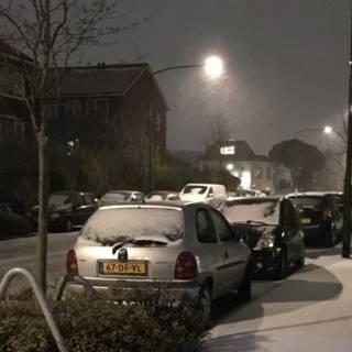Bekijk details van Winterse neerslag trekt over Nederland, code geel afgekondigd