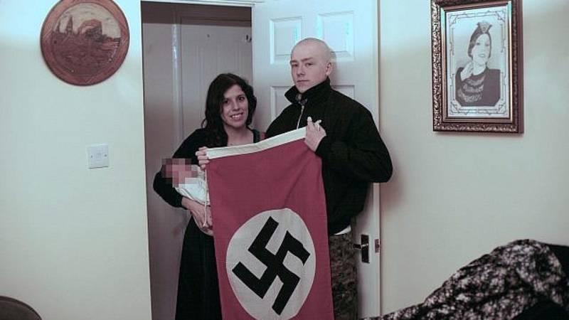 Celstraf voor Britse neonazi's die hun baby naar Hitler vernoemden