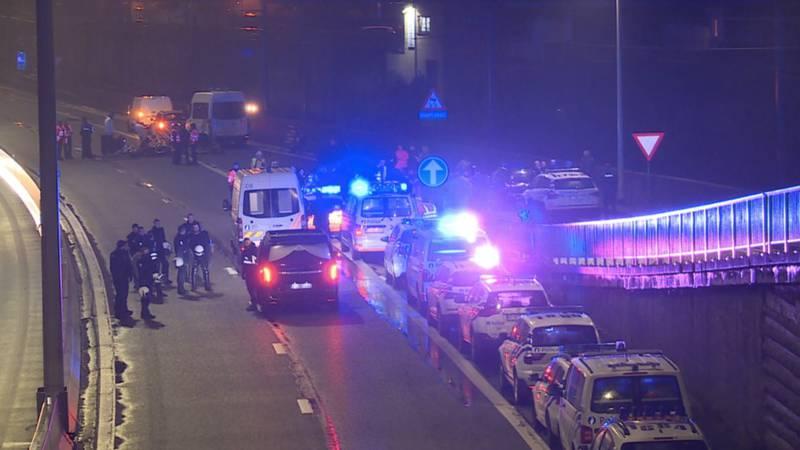 Dode bij snelwegprotest gele hesjes vlak over Belgische grens