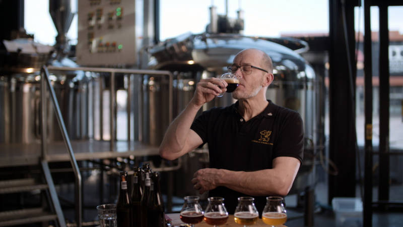 Gijs Troost, bierbrouwer en internationaal biersommelier