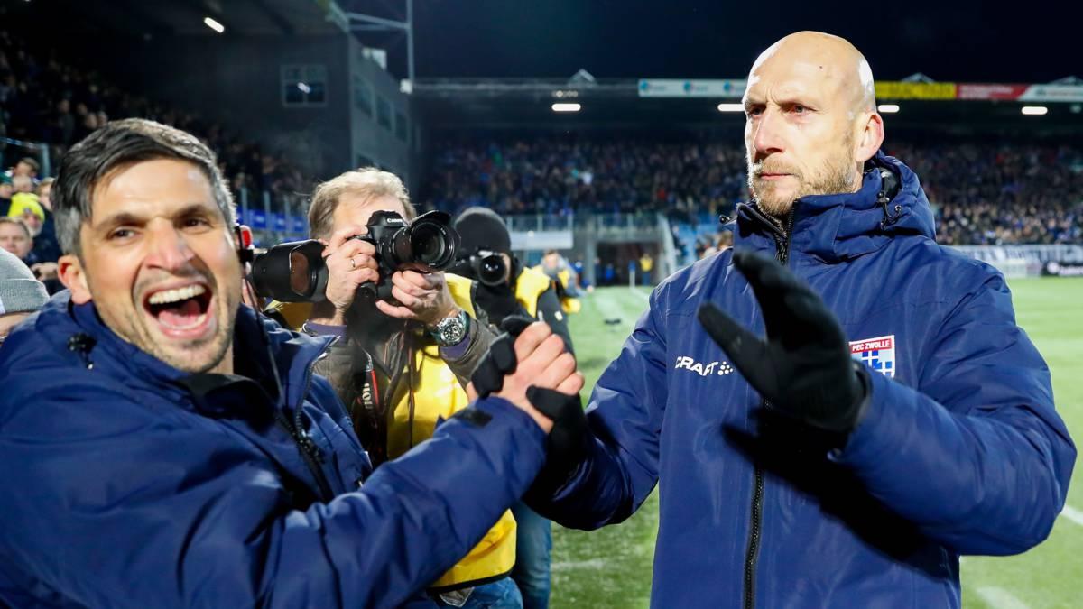 Stam na stunt tegen Feyenoord: 'We wisten dat PEC dit kon'