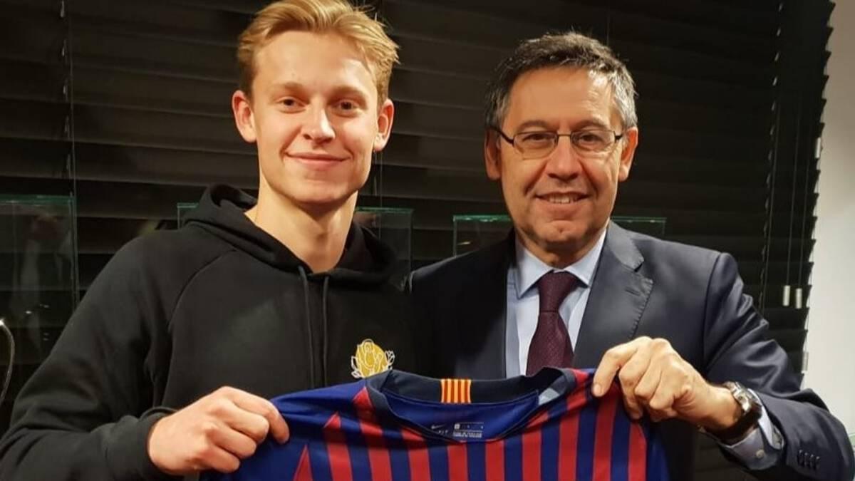 Frenkie de Jong: 'Niet de toerist zijn die alleen gaat kijken naar Messi'