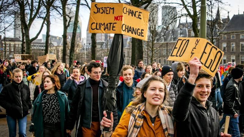 The Hague climate demonstration, ANP photo
