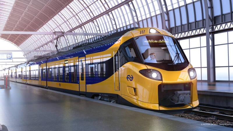 Nieuwe Intercity Van Ns Maakt Eerste Meters Buiten Fabriek Nos