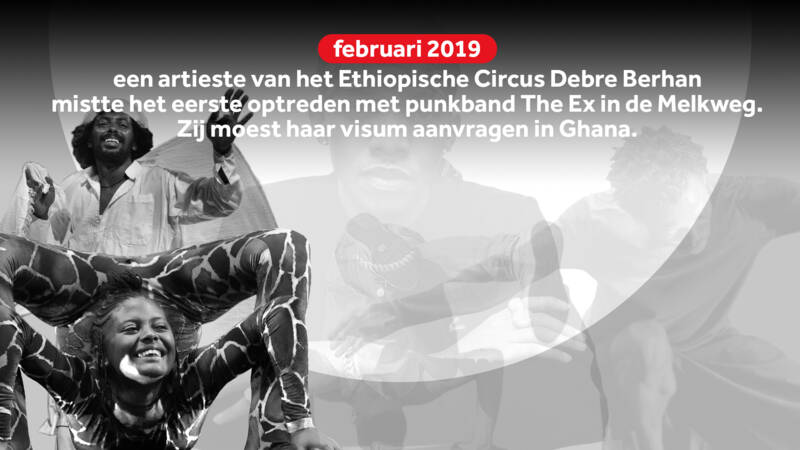 No visum for Ethiopian circus