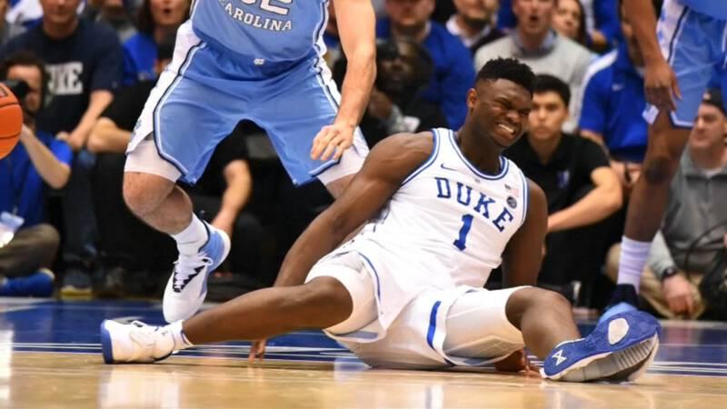 Nike in de min op beurs door gescheurde schoen basketballer