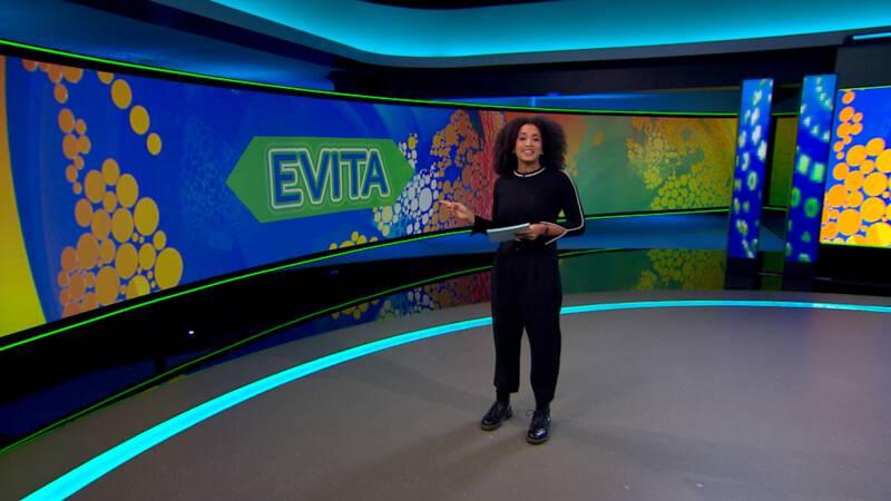 De eerste uitzending van Evita! | NOS Jeugdjournaal