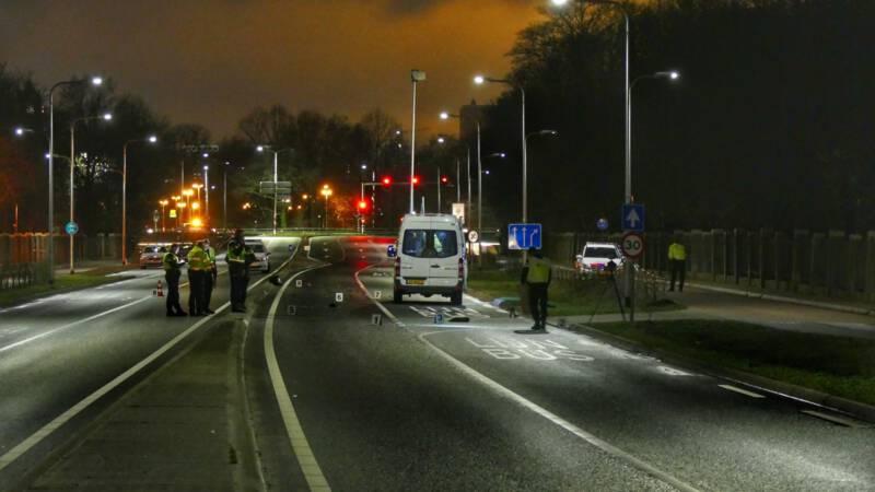 Dode bij ongeluk in Utrecht, automobilist doorgereden.