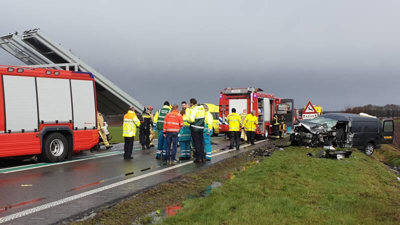Twee doden bij ongeval op N34 bij Borger.
