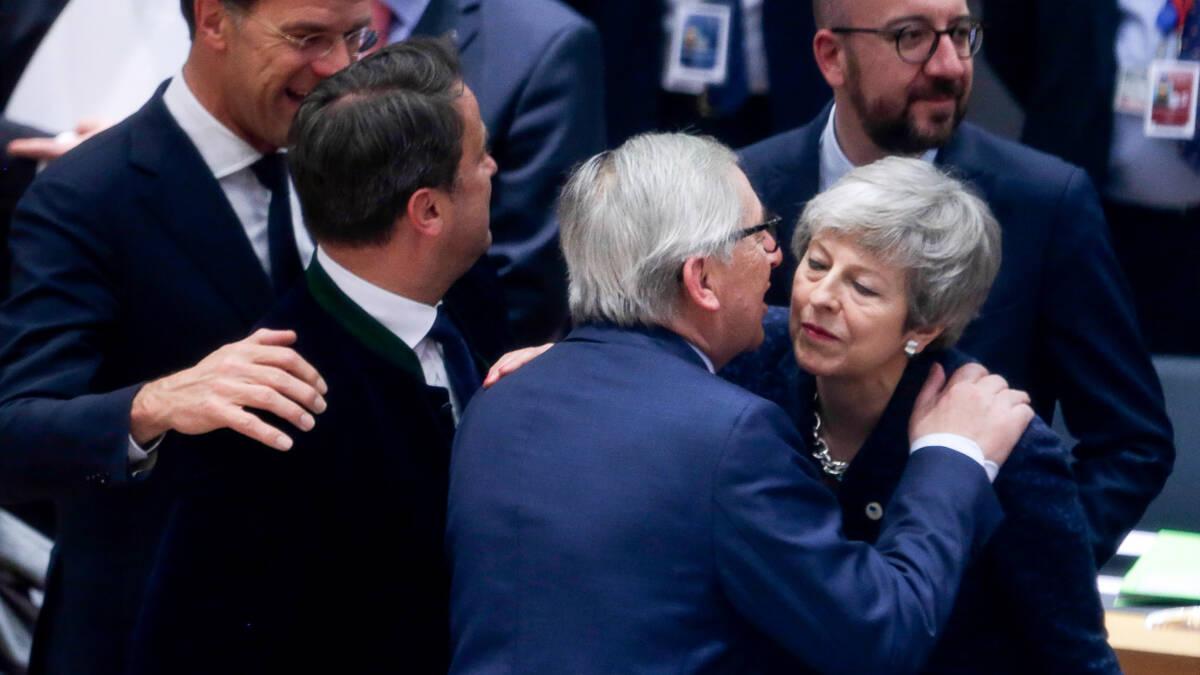 EU geeft Britten uitstel tot 22 mei, uiterlijk 12 april brexitplan