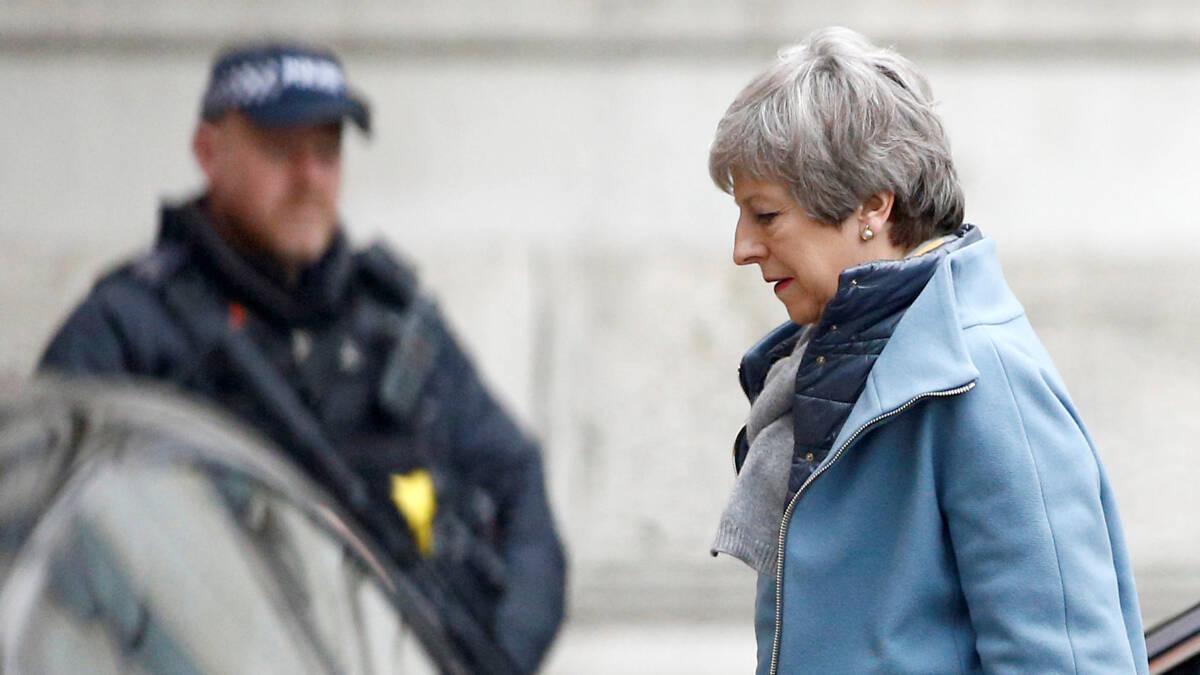 'Britse ministers van plan om Theresa May te vervangen'