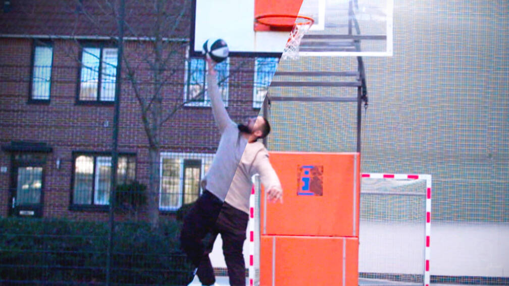 Hoe Okrah met basketbal een hele wijk upgradet