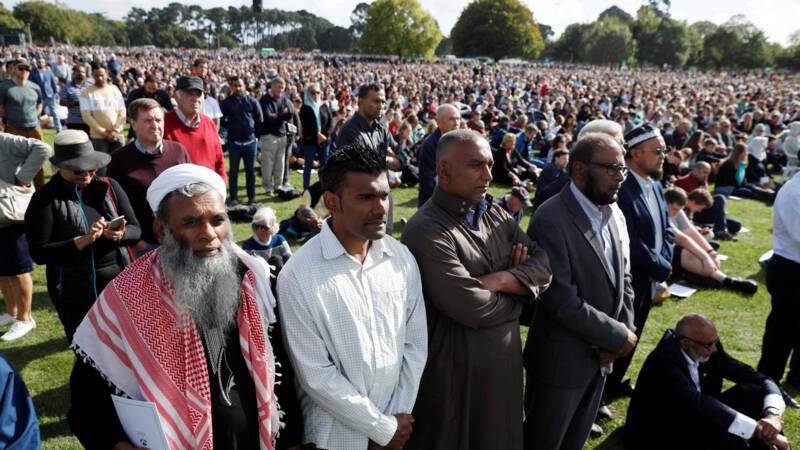 Nationale Herdenking Nieuw-Zeeland Voor Slachtoffers