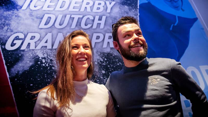 Schaatsers stappen gretig en nieuwsgierig in Icederby-avontuur