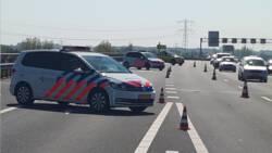 Automobilisten rijden dwars door sporen ongeluk A2.