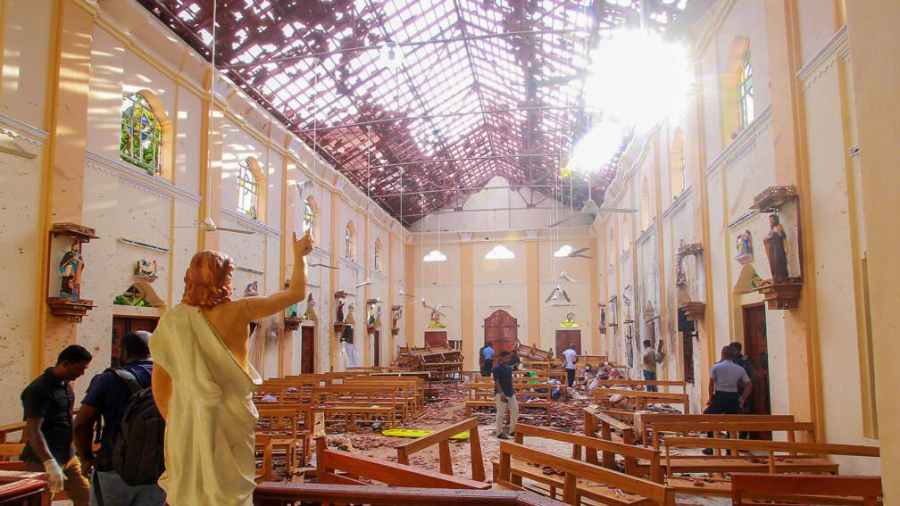 Bekijk details van De aanslagen in Sri Lanka hebben IS-signatuur van 'iconocide'