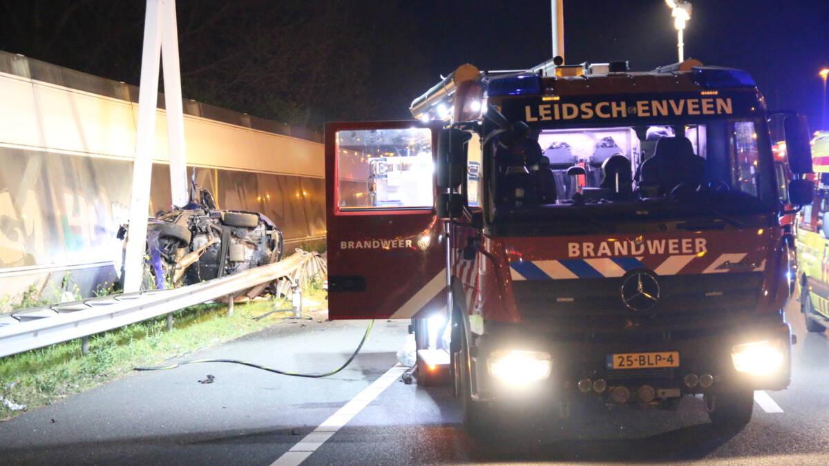 Vier doden bij ongeluk A12 bij Den Haag