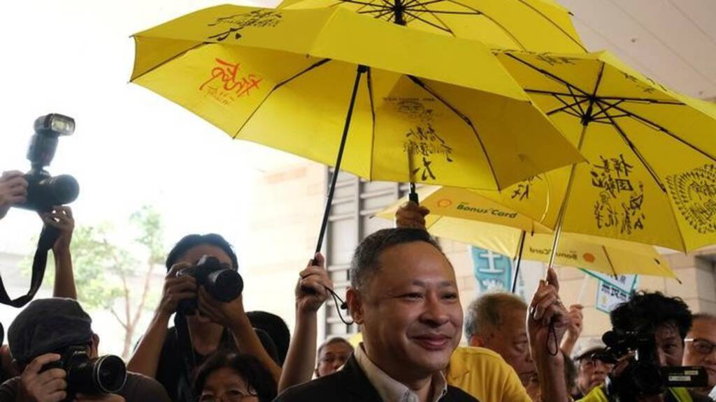 Leider Parapluprotest Hongkong Na Vrijlating: 'Ik Heb