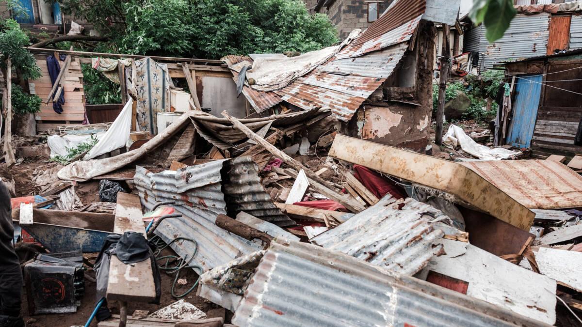 Tientallen doden door noodweer in Zuid-Afrika