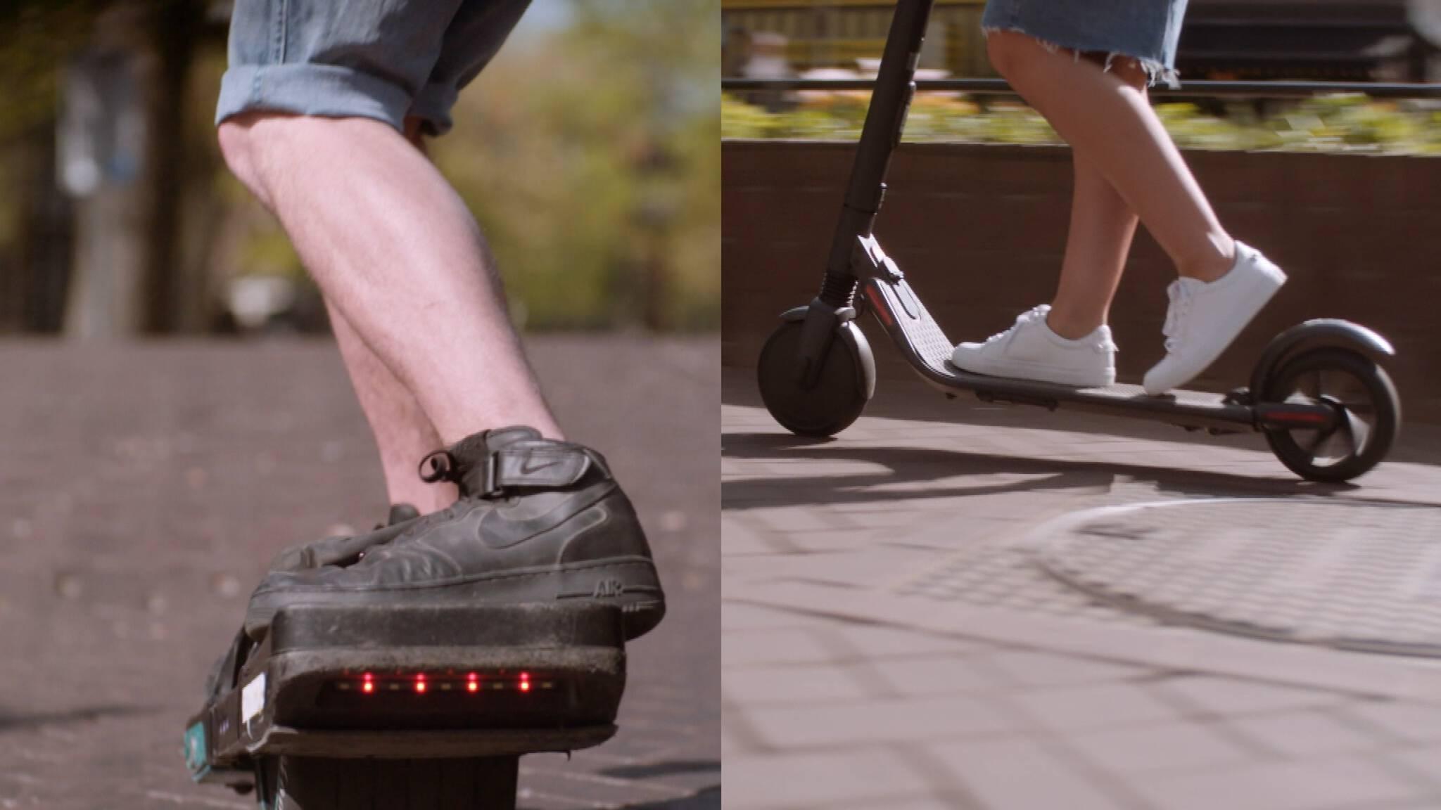 Legaal Rondrijden Op Een Elektrische Step Dat Gaat Niet Snel Gebeuren Nos
