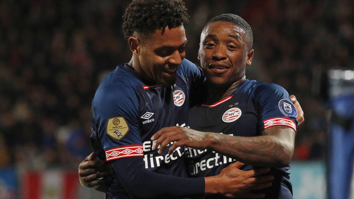 PSV wint moeiteloos van onzichtbaar Willem II en blijft in titelrace
