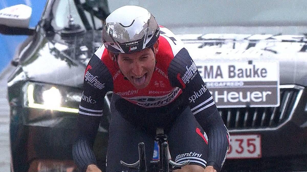 Tweede tijd Mollema aan de finish in San Marino