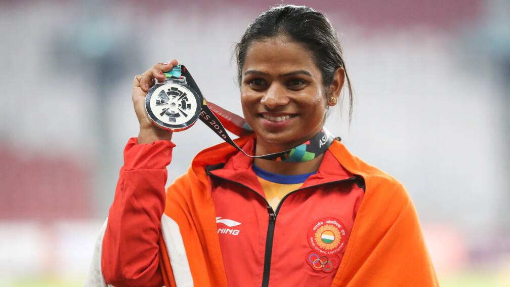 Bekijk details van Sprintster Dutee Chand eerste openlijk homoseksuele atleet in India