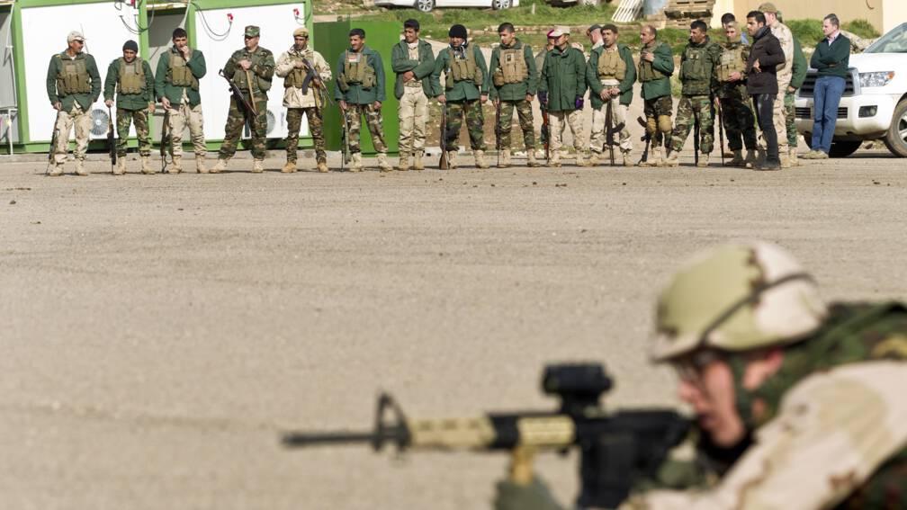 Bekijk details van Nederlandse trainingsmissie in Irak na een week voortgezet
