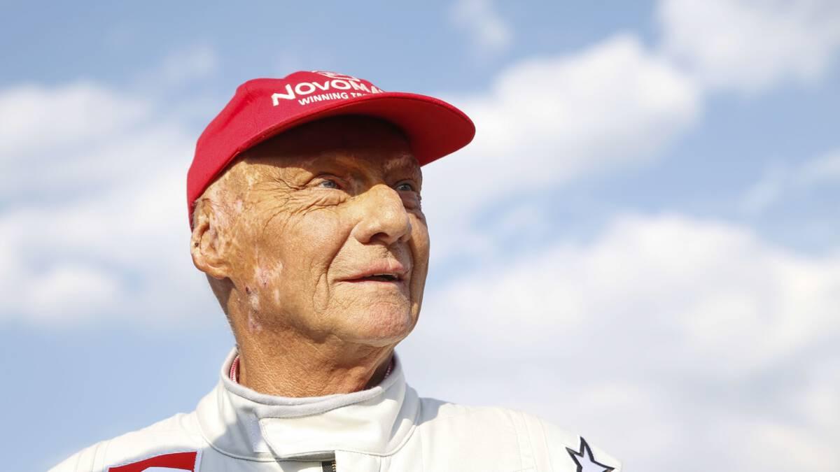 Oud-wereldkampioen Formule 1 Niki Lauda (70) overleden