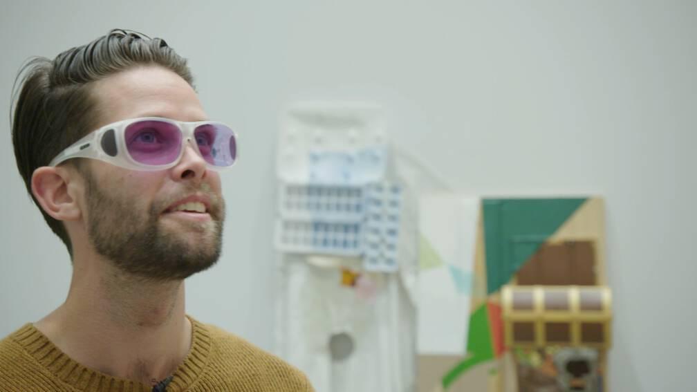 Kleurenblind en tóch kleurervaren: 'Hij zagplotslippenstift van zijnvrouw'