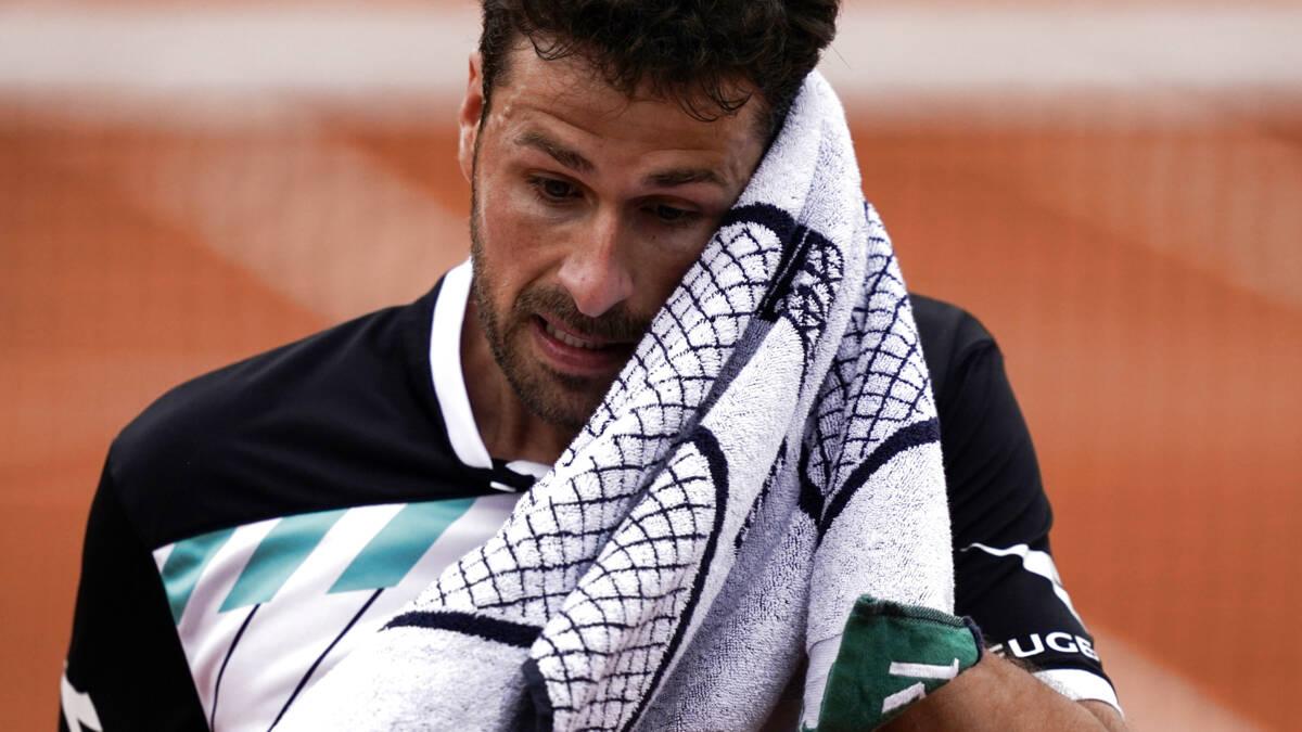 Haase sneuvelt op Roland Garros en trakteert stadion bijna op bier