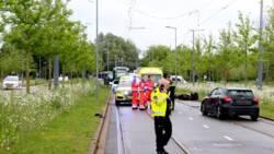 Maaltijdbezorger komt om bij ongeluk in Rotterdam.