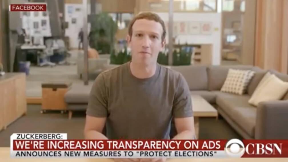 Instagram laat opmerkelijke 'deepfake'-video Mark Zuckerberg online staan