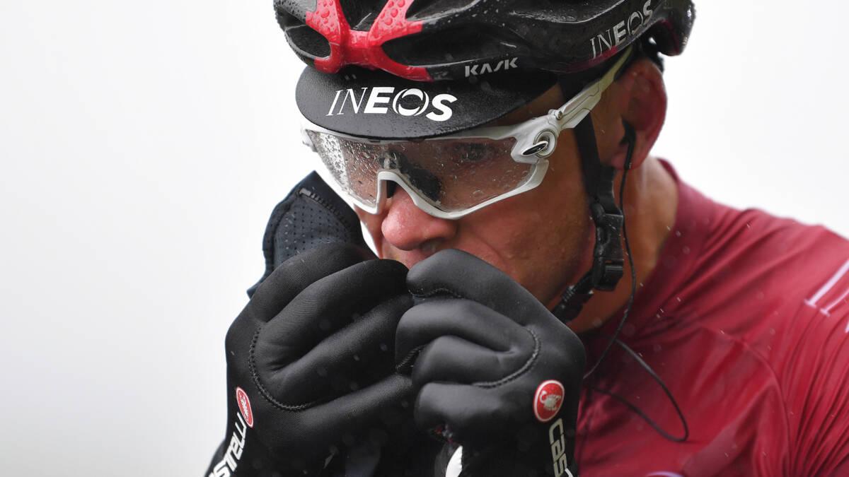 Geen Tour voor Froome na zware val: gebroken heup, dijbeen, elleboog en ribben