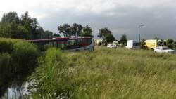Gewonden door busongeluk bij De Meern.