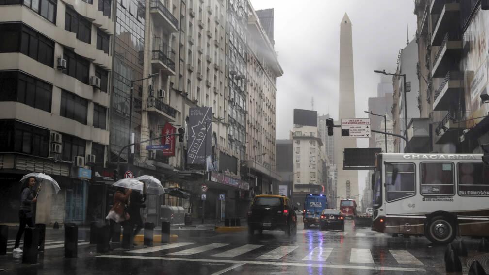 Bekijk details van Nederlander in Buenos Aires: 'Zo'n grote storing heb ik nog nooit gezien'