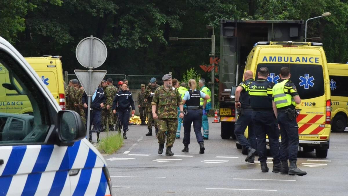 Veertien gewonden na blikseminslag bij militaire oefening Ossendrecht