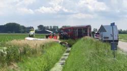 Twee doden bij ongeluk met sportvliegtuigjes in Noord-Brabant.