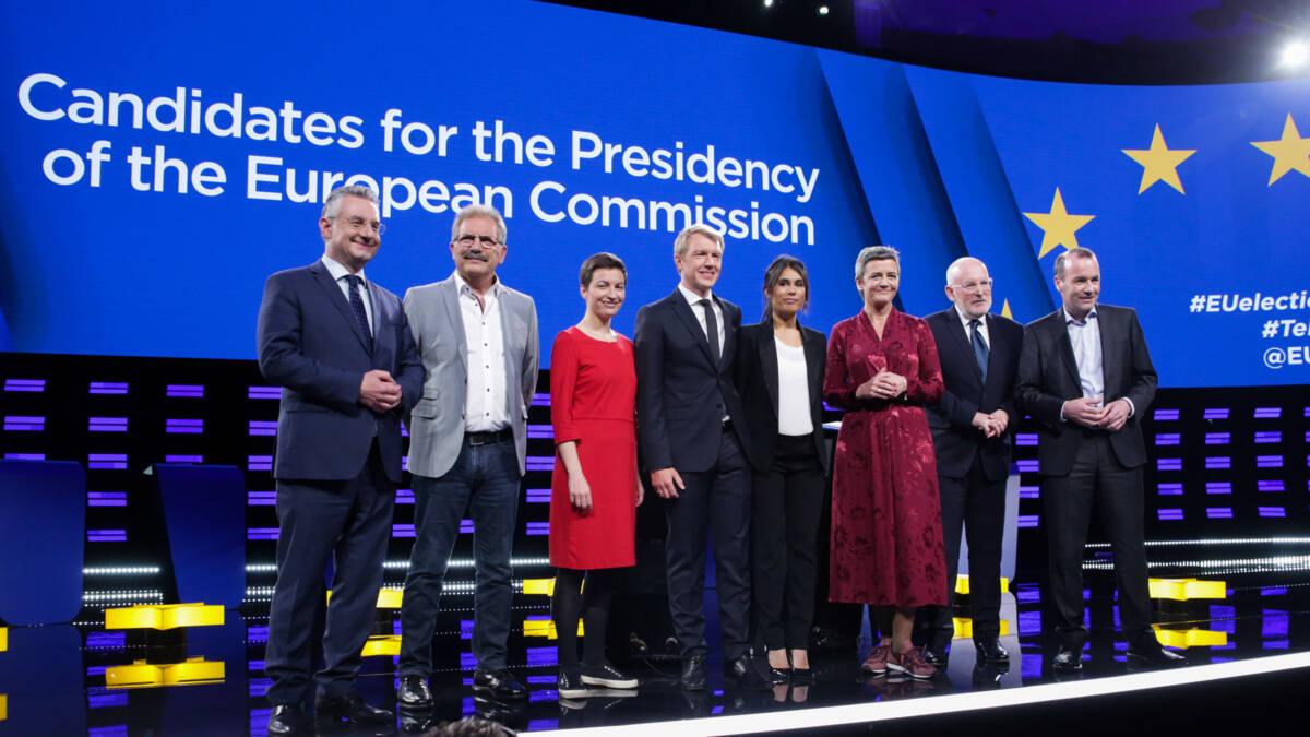 EU-lijsttrekkers grijpen laatste kans, anders toch Brusselse achterkamertjes