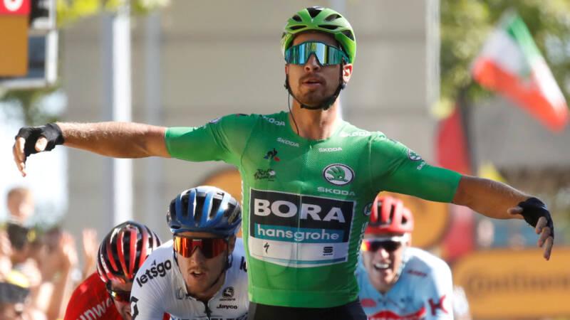 Sagan boekt met overmacht twaalfde etappezege in Tour