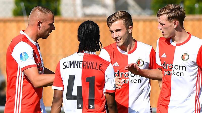 Feyenoord start trainingskamp met zege, officieus debuut Kelly