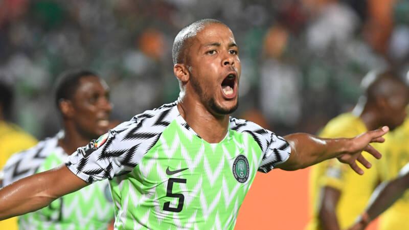 Troost-Ekong bezorgt Nigeria ticket voor halve finale Afrika Cup