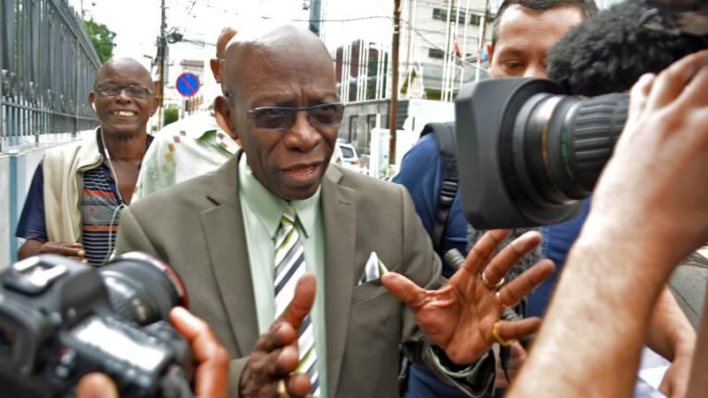 FIFA-kopstuk Warner krijgt boete van 79 miljoen dollar
